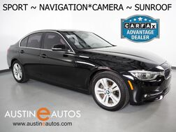 2017_BMW_3 Series 330i Sedan_*SPORT LINE, NAVIGATION, BACKUP-CAMERA, MOONROOF, DAKOTA LEATHER, HEATED SEATS, COMFORT ACCESS, BLUETOOTH PHONE & AUDIO_ Round Rock TX