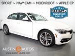 2017 BMW 3 Series 330i Sedan *SPORT LINE, NAVIGATION, BACKUP-CAMERA, MOONROOF, HEATED SEATS, COMFORT ACCESS, BLUETOOTH, APPLE CARPLAY