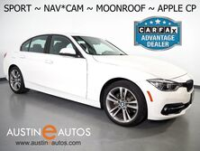 BMW 3 Series 330i Sedan *SPORT LINE, NAVIGATION, BACKUP-CAMERA, MOONROOF, HEATED SEATS, COMFORT ACCESS, BLUETOOTH, APPLE CARPLAY 2017