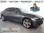 2017 BMW 3 Series 330i Sedan *SPORT LINE, NAVIGATION, BACKUP-CAMERA, MOONROOF, PARK DISTANCE CONTROL, ALLOY WHEELS, BLUETOOTH PHONE & AUDIO, APPLE CARPLAY