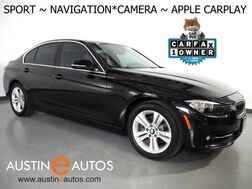 2017_BMW_3 Series 330i Sedan_*SPORT LINE, NAVIGATION, BACKUP-CAMERA, PARK DISTANCE CONTROL, SPORT BUCKET SEATS, ALLOY WHEELS, BLUETOOTH PHONE & AUDIO, APPLE CARPLAY_ Round Rock TX