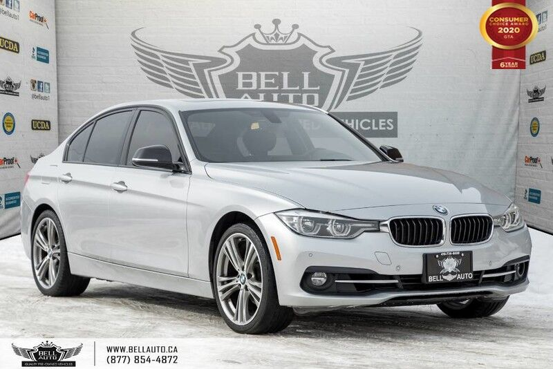 2017 BMW 3 Series 330i xDrive, AWD, NO ACCIDENT, NAVI, REAR CAM, SENSORS