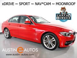 2017_BMW_3 Series 330i xDrive AWD_*SPORT LINE, NAVIGATION, BACKUP-CAMERA, LEATHER, MOONROOF, HEATED SEATS/STEERING WHEEL, COMFORT ACCESS, BLUETOOTH_ Round Rock TX