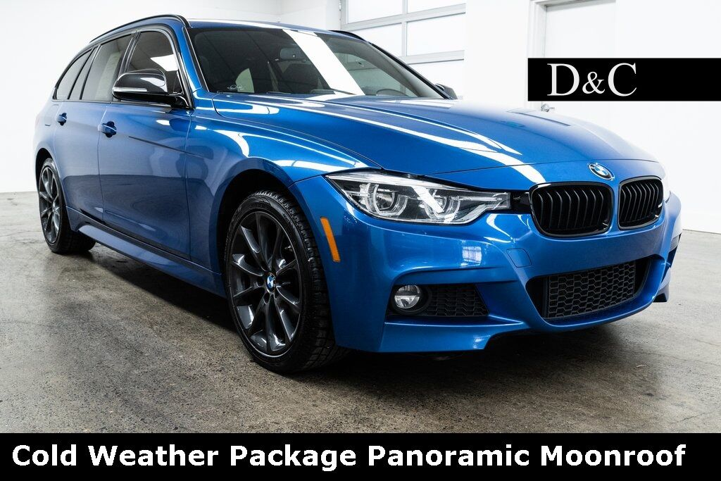 2017 BMW 3 Series 330i xDrive M Sport Cold Weather Package Panoramic Moonroof Portland OR