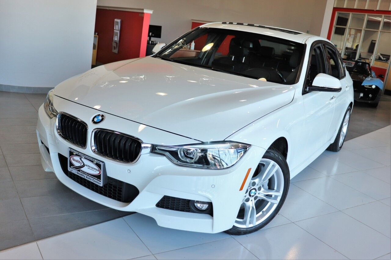 2017 BMW 3 Series 330i xDrive M Sports Premium Cold Weather Driving Assistance Technology Package Wireless Charging Apple Play Springfield NJ