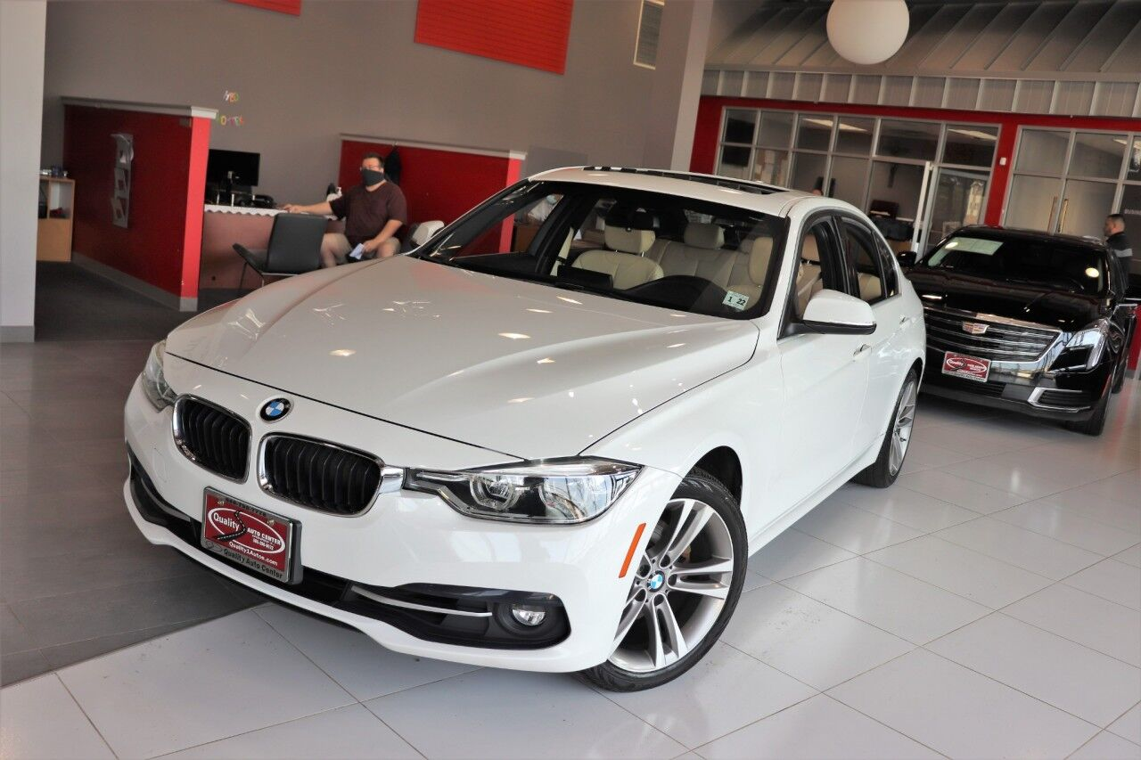 2017 BMW 3 Series 330i xDrive Premium Cold Weather Package Navigation Apple Play 18 inch wheels Sunroof 1 Owner Springfield NJ