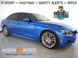 2017_BMW_3 Series 340i Sedan_*M SPORT, HEADS-UP DISPLAY, BLIND SPOT ALERT, DRIVING ASSISTANT, NAVIGATION, SIDE/REAR/TOP CAMERAS, HARMAN/KARDON, LEATHER, MOONROOF, APPLE CARPLAY_ Round Rock TX