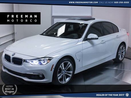 2017_BMW_330e_iPerformance Hybrid Nav Surround Cam Blind Spot Ast_ Portland OR