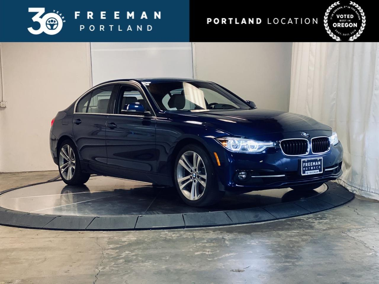 2017 BMW 330i Nav Apple Car Play Lighting Pkg Portland OR