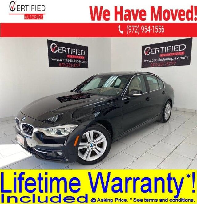 2017 BMW 330i SPORT LINE PREMIUM PKG NAVIGATION DRIVING ASSIST PKG SUNROOF REAR CAMERA Dallas TX