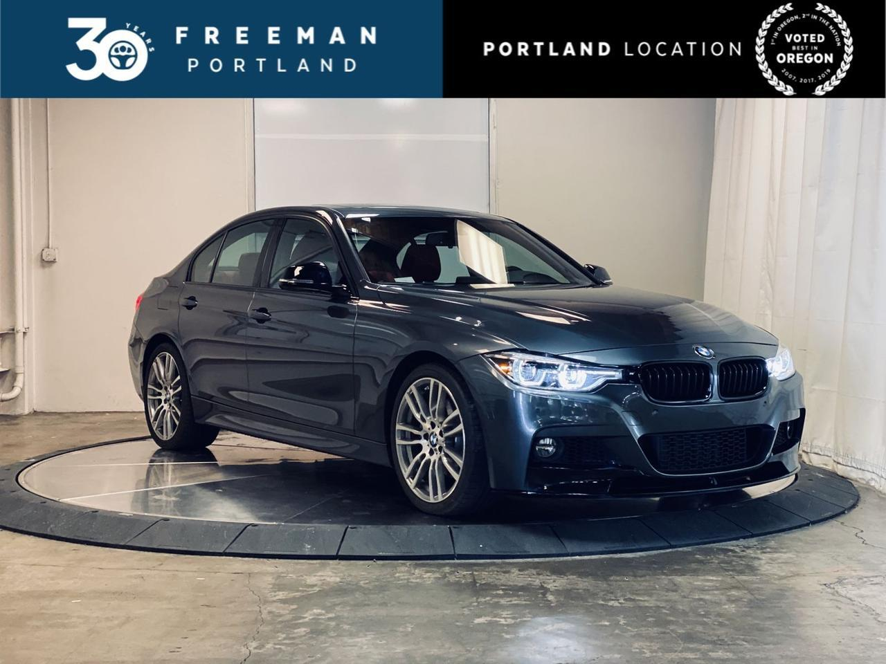 2017 BMW 340i M Sport Red Interior Bang & Olufsen Sound Portland OR