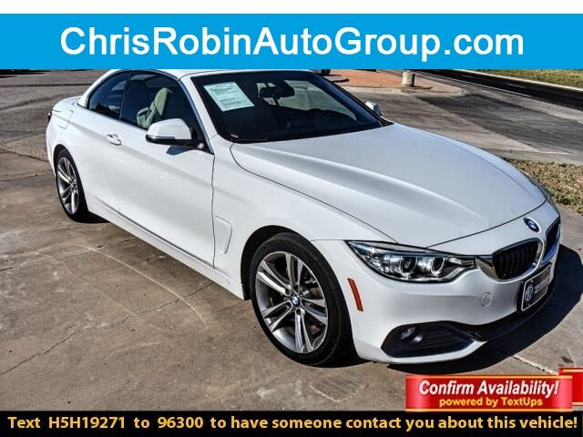 2017 BMW 4 Series 430I CONVERTIBLE Midland TX