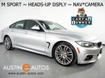 2017 BMW 4 Series 430i Gran Coupe *M SPORT PKG, HEADS-UP DISPLAY, NAVIGATION, BACKUP-CAM, HARMAN/KARDON, MOONROOF, HEATED SEATS, LIGHTING PKG, 19in WHEELS, BLUETOOTH