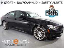 2017_BMW_4 Series 430i Gran Coupe_*M SPORT PKG, HEADS-UP DISPLAY, NAVIGATION, BLIND SPOT & LANE DEPARTURE ALERT, DRIVING ASSISTANT, TOP/SIDE/REAR CAMERAS, LEATHER, HEATED SEATS, HARMAN/KARDON_ Round Rock TX