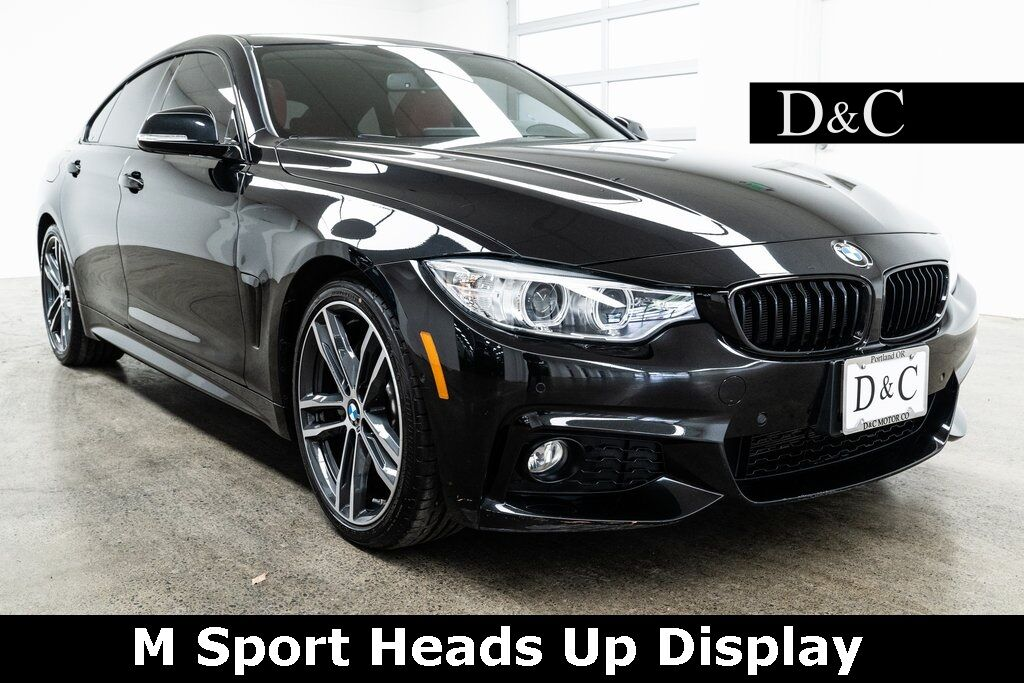 2017 BMW 4 Series 430i Gran Coupe M Sport Heads Up Display Portland OR