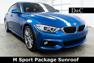 2017 BMW 4 Series 430i Gran Coupe M Sport Package Sunroof