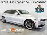 2017 BMW 4 Series 430i Gran Coupe *SPORT LINE, BACKUP-CAMERA, MOONROOF, DAKOTA LEATHER, COMFORT ACCESS, PARK DISTANCE CONTROL, BLUETOOTH PHONE