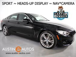2017_BMW_4 Series 430i Gran Coupe_*SPORT LINE, HEADS-UP DISPLAY, NAVIGATION, SIDE/TOP/REAR CAMERAS, HARMAN/KARDON, MOONROOF, HEATED SEATS, COMFORT ACCESS, BLUETOOTH, APPLE CARPLAY_ Round Rock TX