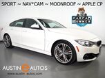 2017 BMW 4 Series 430i Gran Coupe *SPORT LINE, NAVIGATION, BACKUP-CAMERA, MOONROOF, POWER TAILGATE, HEATED SEATS, 19 INCH ALLOYS, BLUETOOTH, APPLE CARPLAY