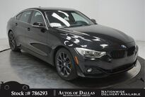 BMW 4 Series 430i Gran Coupe SPORT LINE,DRVR ASST+,HEADS UP,LED 2017