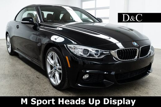 2017 BMW 4 Series 430i Hard Top Convertible M Sport Heads Up Display Portland OR