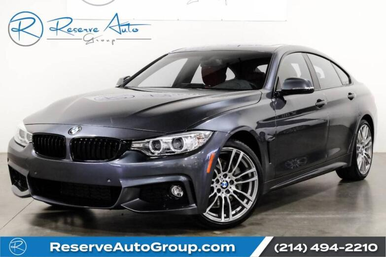 2017 BMW 4 Series 430i M-Sport DRIVER ASST PKG Navigation Heated Seats The Colony TX