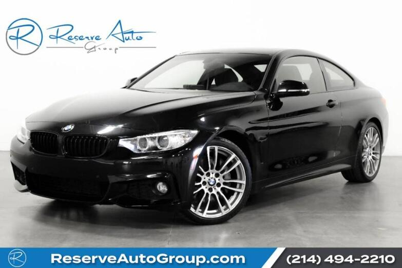 2017 BMW 4 Series 430i M-Sport Navigation Heated Seats Comfort Access The Colony TX