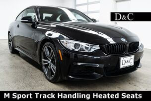 2017 BMW 4 Series 430i M Sport Track Handling Heated Seats