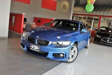 2017 BMW 4 Series 430i xDrive M Sports Premium Drivers Assist Navigation Heated Front Seats Side and Top View Camera Apple Car play Sunroof 1 Owner
