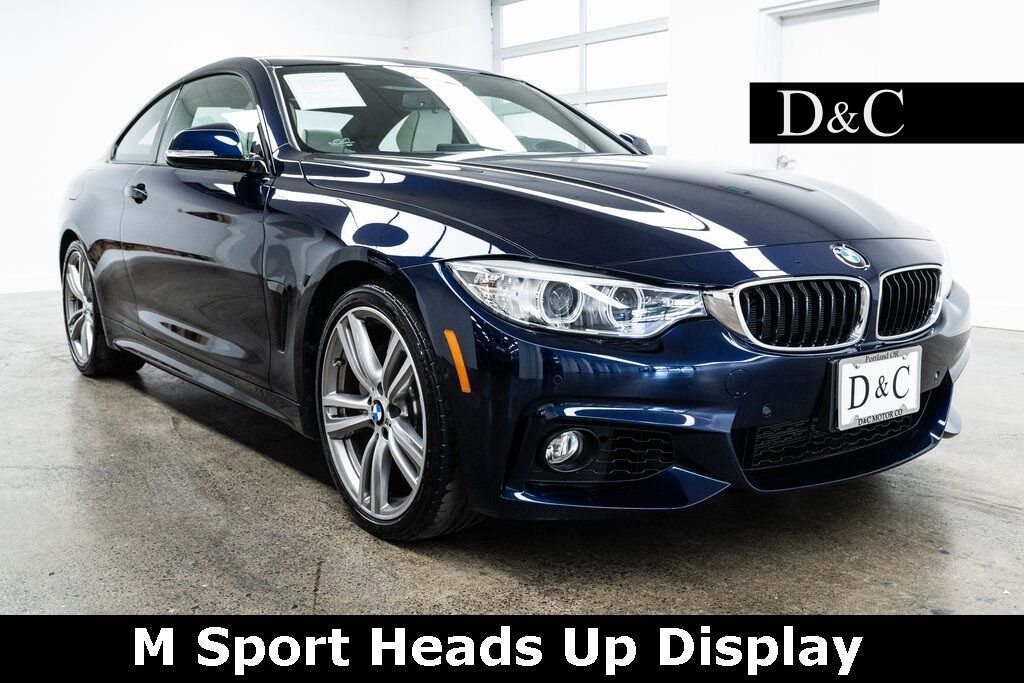 2017 BMW 4 Series 440i M Sport Heads Up Display Blind Spot Assist Portland OR