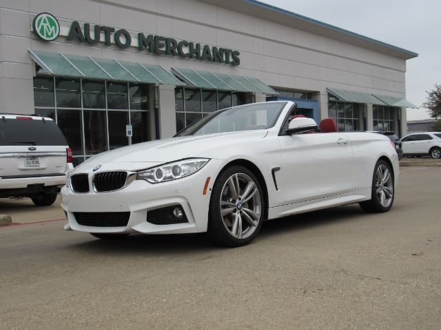 2017 BMW 4-Series 440i convertible  LEATHER SEATS, NAVIGATION, HEADS-UP DISPLAY, HID HEADLIGHTS,  BACKUP CAMERA Plano TX