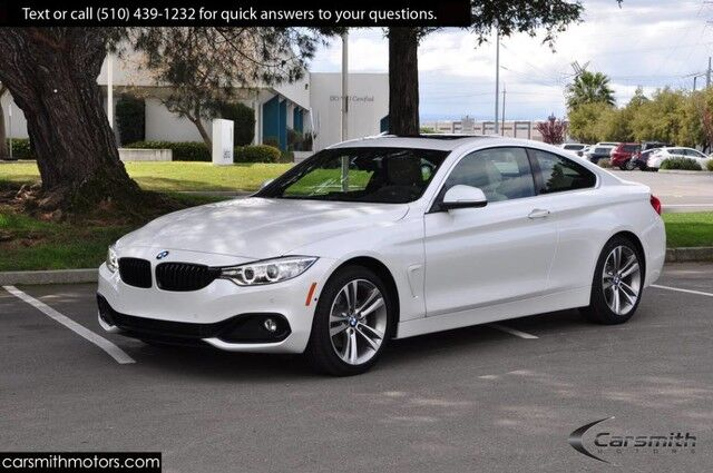 2017 BMW 430 Coupe ONLY 6K miles Tech with Heads Up MSRP$51,975 Drivers Assistance Plus/Blind Spot/Apple Car/Lane Departure Fremont CA