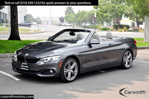 2017 BMW 430 Sport Convertible LOADED!!! MSRP $62,200 Tech Pkg/Drivers Assistance Plus/Apple Car Play Fremont CA