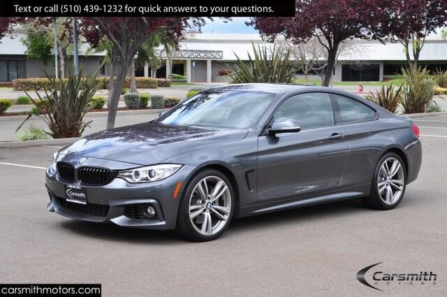 2017 BMW 440 M Sport Coupe only 19k Miles and Loaded! MSRP $62,620 Drivers Assistance Plus with Blind Spot/Heads Up/19/Apple CarPlay Fremont CA