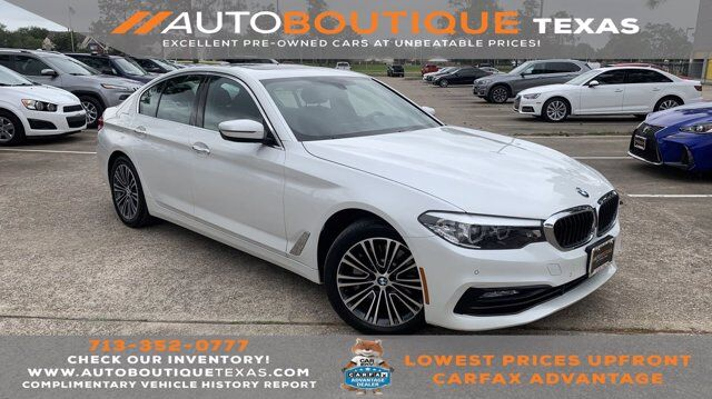 2017 BMW 5 Series 530i Houston TX