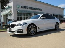 2017_BMW_5-Series_530i *M SPORT, PREMIUM* LEATHER, NAVIGATION, SUNROOF, PARKING SENSORS, UNDER FACTORY WARRANTY_ Plano TX