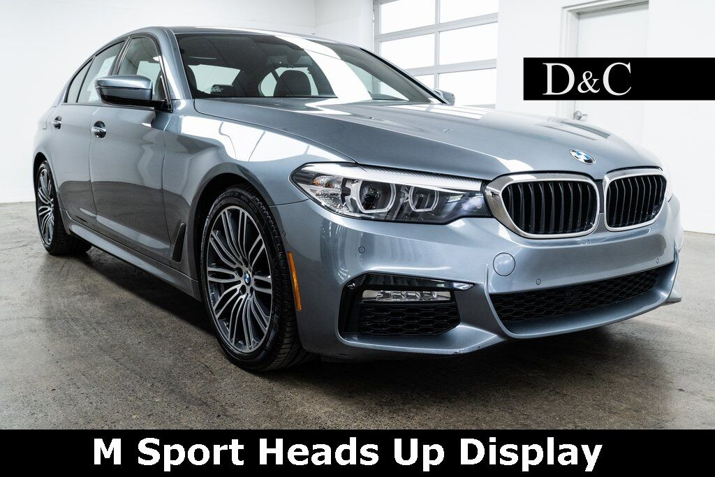 2017 BMW 5 Series 530i M Sport Heads Up Display Portland OR