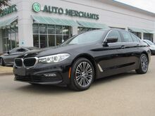 2017_BMW_5-Series_530i* SPORT LINE,BACKUP CAM,NAVIGATION,BLUETOOTH,REAR PARKING AID,HEATED SEAT,UNDER FACTORY WARRANTY_ Plano TX