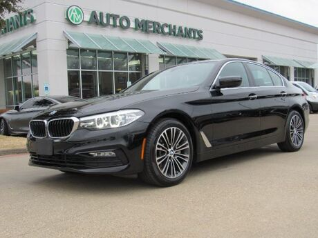 2017 BMW 5-Series 530i* SPORT LINE,BACKUP CAM,NAVIGATION,BLUETOOTH,REAR PARKING AID,HEATED SEAT,UNDER FACTORY WARRANTY Plano TX
