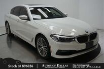 BMW 5 Series 530i SPORT LINE,NAV,CAM,SUNROOF,HTD STS,19IN WLS 2017
