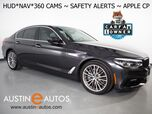 2017 BMW 5 Series 530i Sedan *SPORT LINE, HEADS-UP DISPLAY, NAVIGATION, BLIND SPOT & LANE DEPARTURE ALERT, 360 VIEW CAMERAS, MOONROOF, DAKOTA LEATHER, FULL LED HEADLIGHTS, APPLE CARPLAY