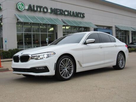2017 BMW 5-Series 530i, Sport Line, Driving Assistance Package, HEADS-UP DISPLAY, SUNROOF, PARKING SESNSORS Plano TX