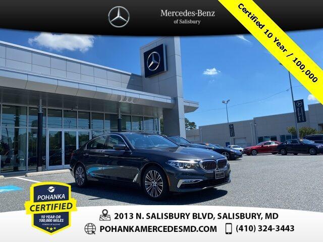 2017 BMW 5 Series 530i xDrive ** Pohanka Certified 10 year / 100,000 ** Salisbury MD