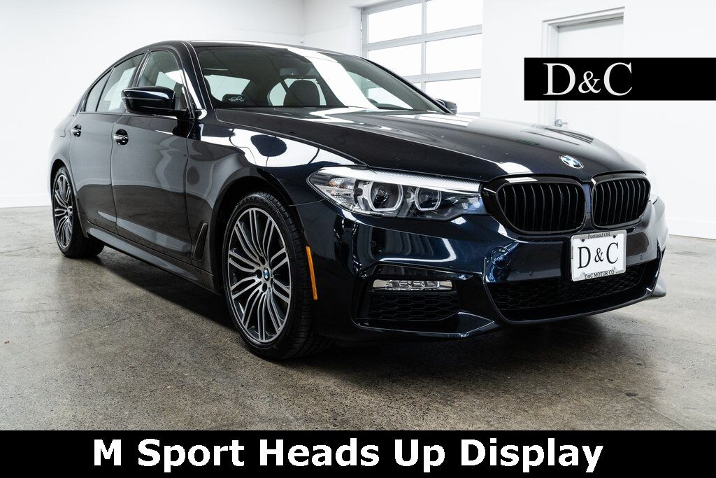 2017 BMW 5 Series 530i xDrive M Sport Heads Up Display Portland OR