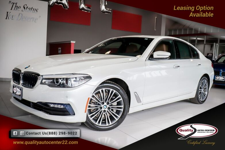 2017 BMW 5 Series 530i xDrive Premium Driving Assistance Plus Package Cold Weather Package Harman Kardon Apple Play Springfield NJ