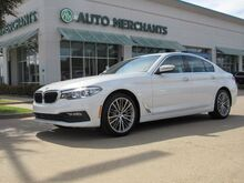 2017_BMW_5-Series_530i*SPORT LINE-7AC,DRIVING ASSIST.PKG,SUNROOF,BACKUP CAM,NAVIGATION SYSTEM,UNDER FACTORY WARRANTY!_ Plano TX
