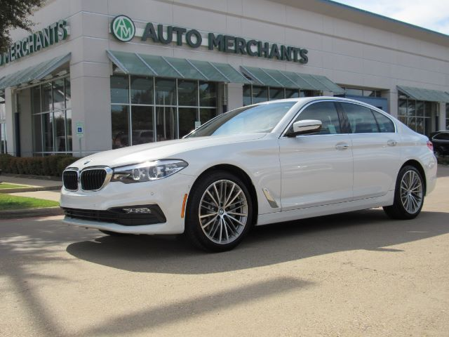 2017 BMW 5-Series 530i*SPORT LINE-7AC,DRIVING ASSIST.PKG,SUNROOF,BACKUP CAM,NAVIGATION SYSTEM,UNDER FACTORY WARRANTY! Plano TX