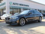 2017 BMW 5-Series 530i*WIFI HOTSPOT,BACKUP CAMERA,AUTOMATIC PARKING,UNDER FACTORY WARRANTY!