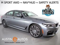 2017_BMW_5 Series 540i xDrive AWD_*M SPORT, HEADS-UP DISPLAY, NAVIGATION, BLIND SPOT & LANE DEPARTURE ALERT, COLLISION ALERT, 3D VIEW CAMERAS, DRIVING ASSISTANT, APPLE CARPLAY_ Round Rock TX