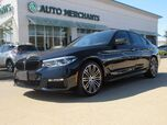 2017 BMW 5-Series TURBO 540i M SPORT PACKAGE, DRIVING ASSISTANCE PLUS, BACK-UP CAMERA, BLIND SPOT MONITOR, NAVIGATION